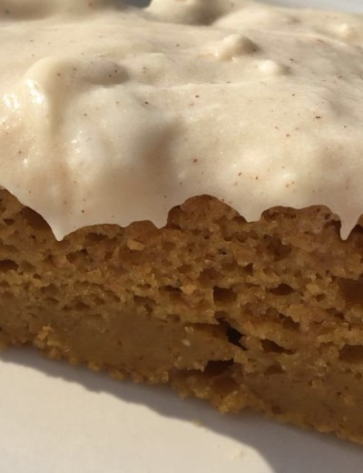 greek yogurt pumpkin bar