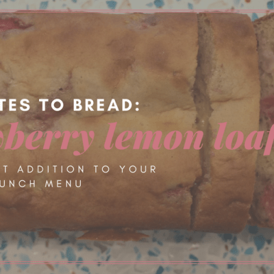 Strawberry Lemon Quick Bread