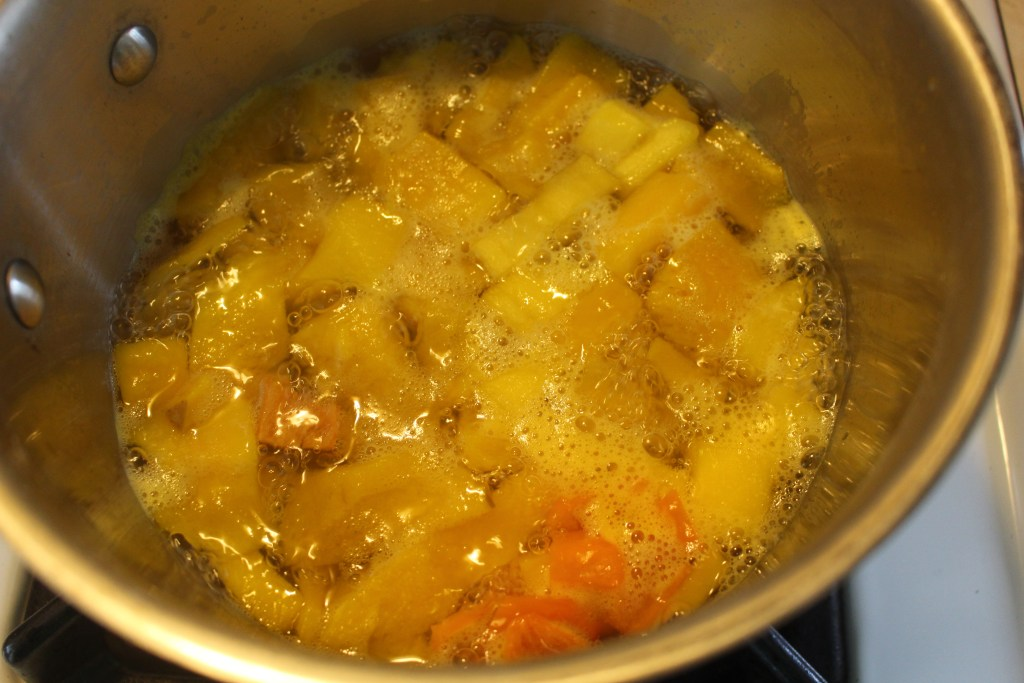 mango habanero mixture