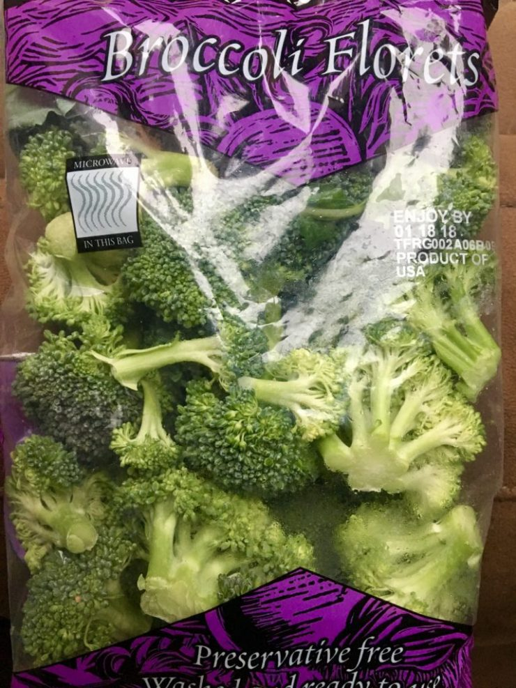 Grocery Haul Broccoli