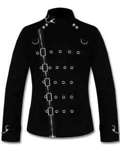 Gothic Tailcoat Jacket, Steampunk VTG Victorian Coat, Gothic Jackets for Men