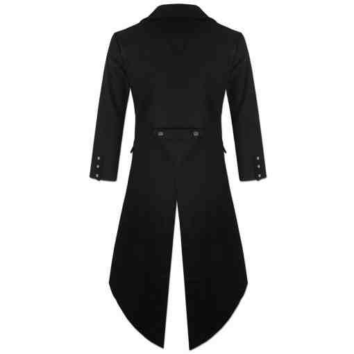 Steampunk Tailcoat Jacket, Gothic Jackets for Men, Best Gothic Clothing