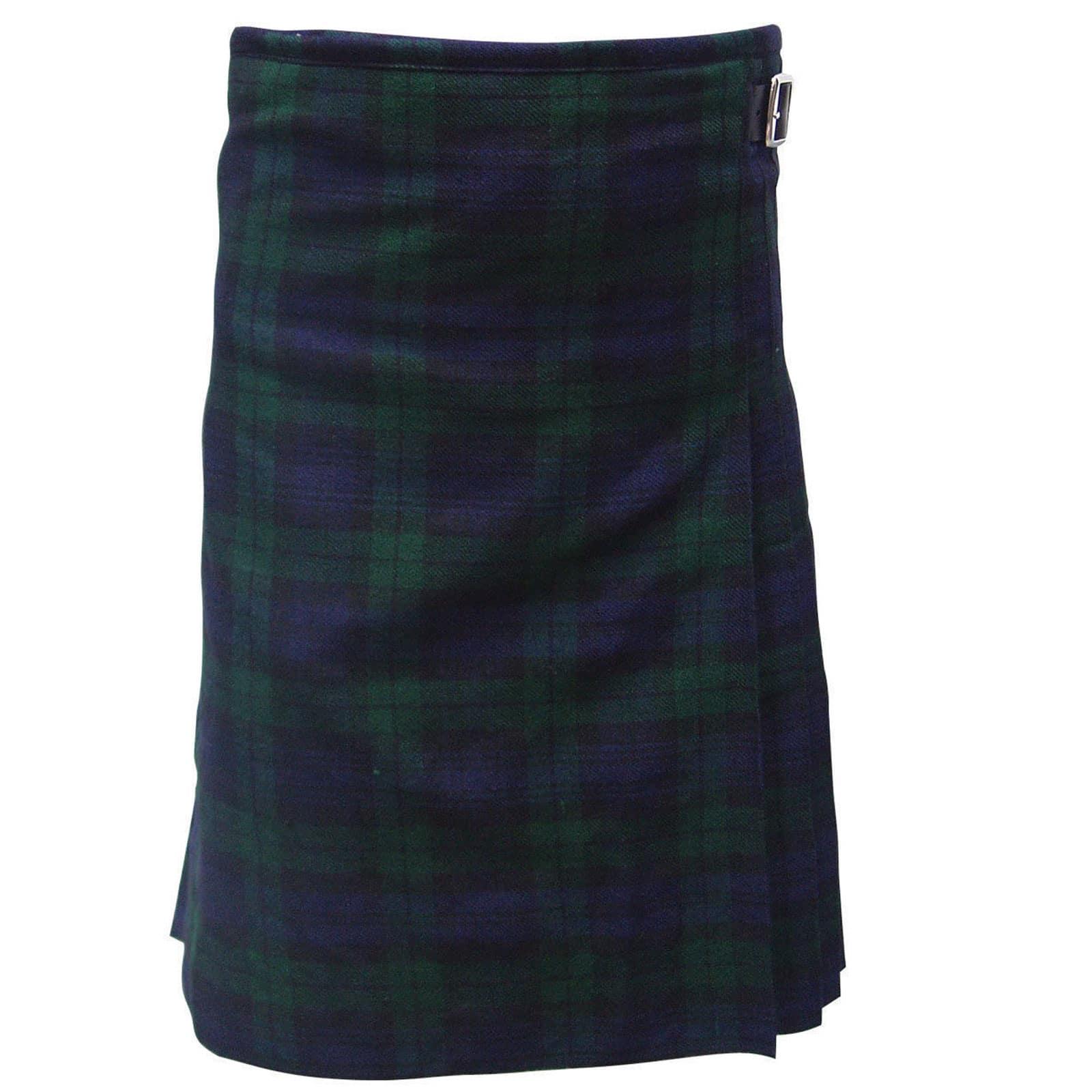 SALE SALE Black Watch Tartan kilt Custom Made Size Length Limited Time Offer GRGns