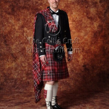 Medium Weight Premium Wool Tartan Fly Plaid