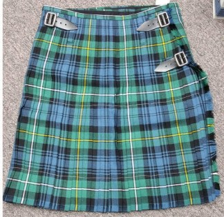 Campbell of Argyle Ancient Medium Weight Premium Wool Formal Kilt