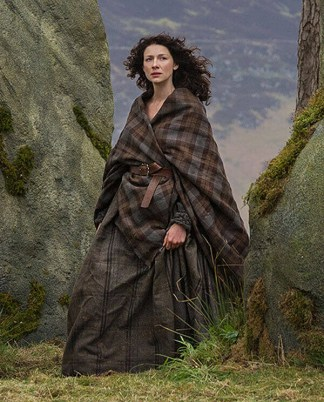 OUTLANDER Earasaid Authentic Premium Wool Tartan