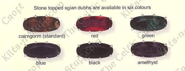 Thistle Mount Clan Crest Sgian Dubh