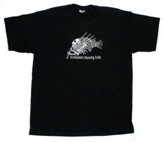 T-shirt Scotlands Missing Link