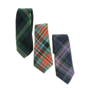 Tartan Neck Ties, Medium Weight