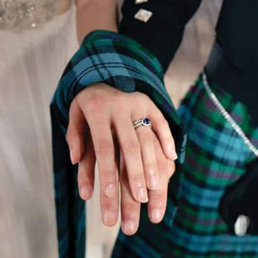Light Weight Premium Wool Handfasting Tartan (tartan list A & B)
