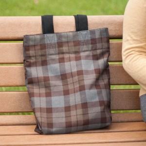 Medium Weight Premium Wool Tartan Tote Bag