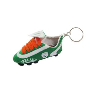 Ireland Soccer Shoe Keychain