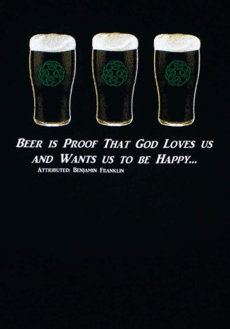 Beer is Proof Celtic Knot T-Shirt