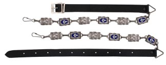 Masonic Antiqued-Silver Sporran Chain Strap