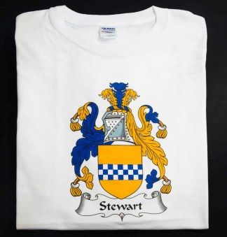 Stewart Coat of Arms Shirt Size 3X