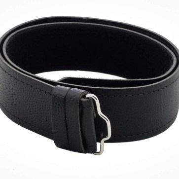 Quality Pebble Grain Leather Kilt Belt