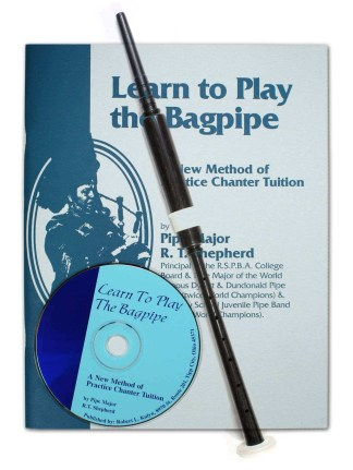 Economy Learn to Play Bagpipes Kit