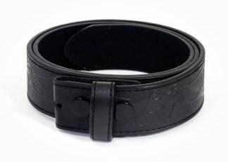 Celtic Stag Embossed Trouser Belt