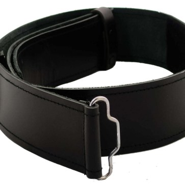 Economy Smooth Leather Kilt Belt