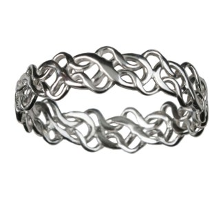 Tangled Celtic Knot Ring
