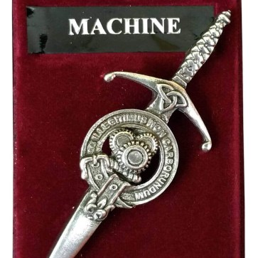 Machine Gears Steampunk Kilt Pin