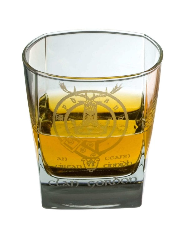 Clan Crest Whisky Glass