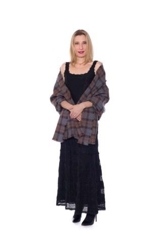 OUTLANDER Stole Authentic Premium Wool Tartan