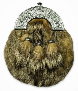Fox Fur Economy Sporran