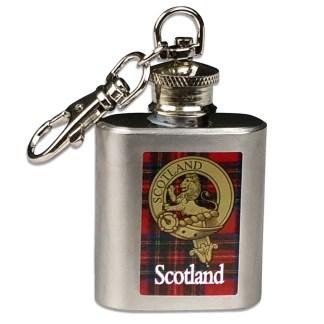 Scotland Key Chain Nip Flask