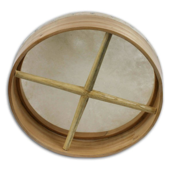 Willow Frame Tacked 14 inch Bodhran
