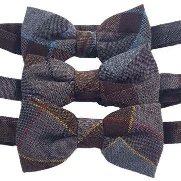 OUTLANDER Tartan Bow Tie Authentic Premium Wool