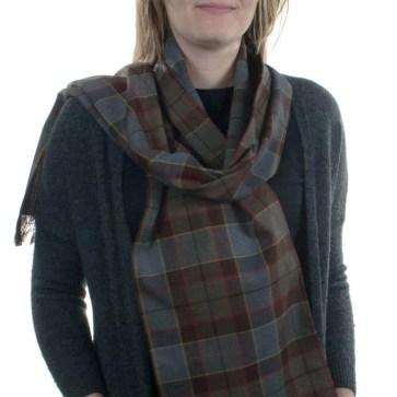 OUTLANDER Poly/Viscose Tartan Scarves