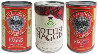 Haggis Sampler 3 Cans - 1 of Each Flavor