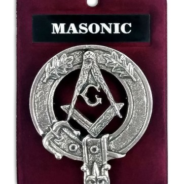Masonic Cap Badge/Brooch