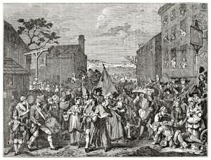 Jacobite rebellion in London