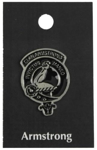 Clan Crest Pewter Mini Badges