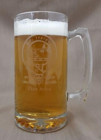 Innes Clan Crest 26 oz. Beer Mug