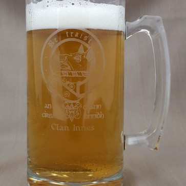 Innes Clan Crest 26 oz. Beer Mug