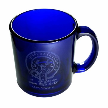 CCT18-CL-1745 Watson Clan Crest Mug