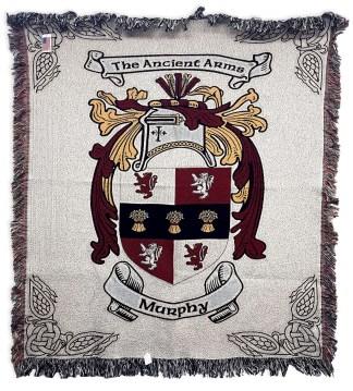 COAB-CL-1802 Murphy Coat of Arms Blanket