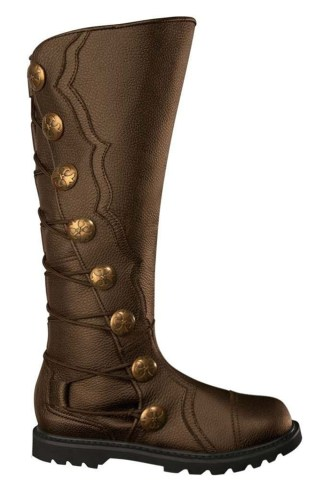 Brown Premium Leather Knee-High Boots