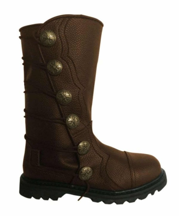 Premium Leather Half-Calf Boots - Brown
