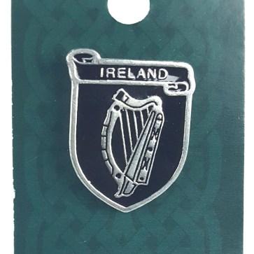 Irish Coat of Arms Mini Badge/Pin
