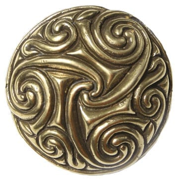 Pictish Disc Pin Brooch