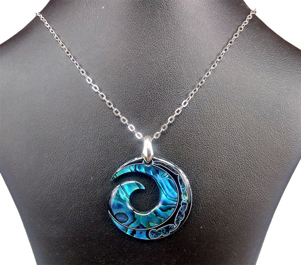 Natures Spiral Necklace