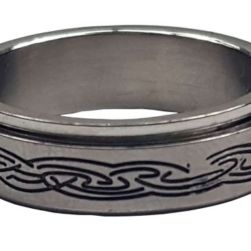 Celtic Knot Spinner Ring