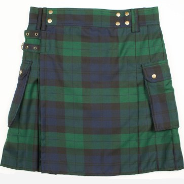 Black Watch Utility Kilt