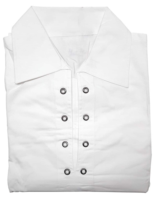 Premium Jacobite Shirt White