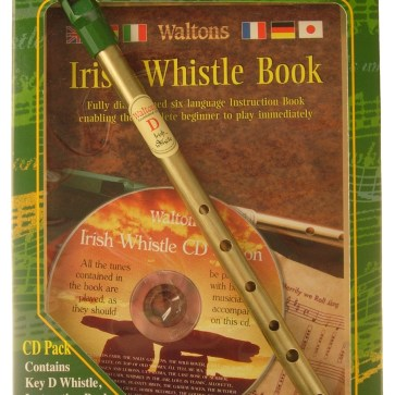 Irish Whistle Tunebook and CD Set