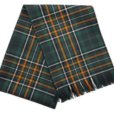 Irish National Premium Wool Tartan Scarf